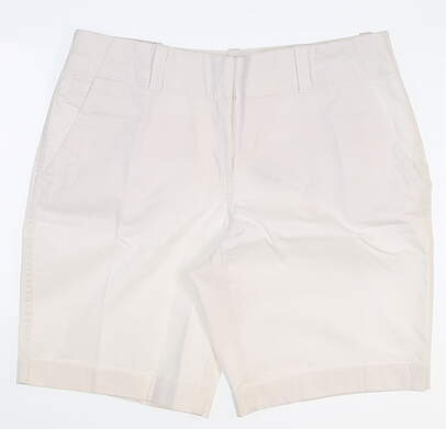 New Womens Vineyard Vines Every Day Shorts 10 White MSRP $78
