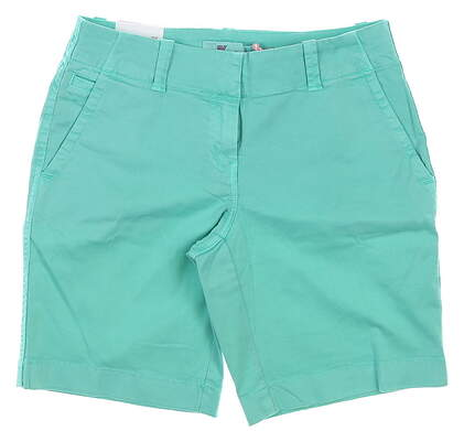 New Womens Vineyard Vines Every Day Shorts 2 Capri Blue MSRP $78