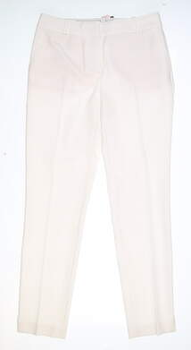 New Womens Fairway & Greene Lucy Ankle Pants 2 White MSRP $130 H32284