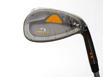 Mint Cleveland CG14 Gunmetal Wedge Pitching Wedge PW 46° 6 Deg Bounce Dynamic Gold SL S300 Steel Stiff Right Handed 37.5in