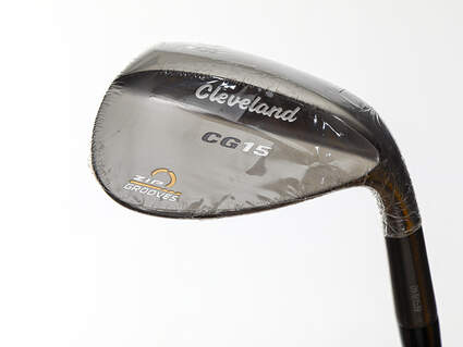 Mint Cleveland CG15 Black Pearl Wedge Pitching Wedge PW 48° 8 Deg Bounce Dynamic Gold SL S300 Steel Stiff Right Handed 38.0in