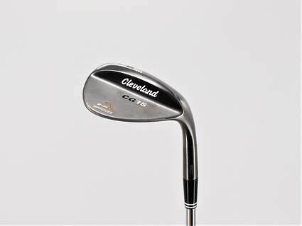 Mint Cleveland CG15 Black Pearl Wedge Lob LW 60° 12 Deg Bounce Dynamic Gold SL S300 Steel Stiff Right Handed 37.5in