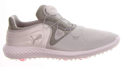 New Womens Golf Shoe Puma IGNITE Blaze Sport Disc Medium 9.5 Gray Violet/ White MSRP $120 190585 01