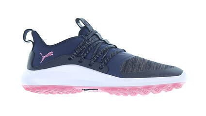 New Womens Golf Shoe Puma Ignite NXT Solelace Medium 8.5 Peacoat/Metalic Pink MSRP $100 192229 03