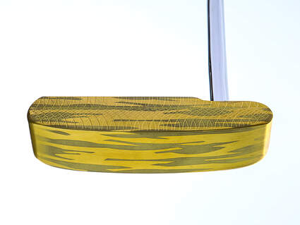 Mint MannKrafted MA/66 Brass with Palm Tree Groves Putter Steel Right Handed 35.0in