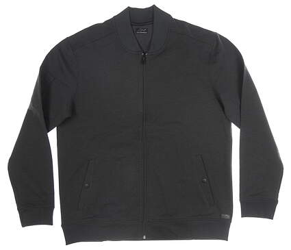 New Mens Greg Norman Jacket Large L Black MSRP $126 G7F9J651
