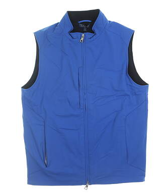 New Mens Peter Millar Crown Crafted Stealth Vest Small S Blue MSRP $265 MF19EZ501