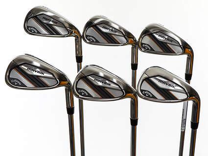 Mint Callaway Mavrik Iron Set 5-PW True Temper Elevate 95 VSS Steel Stiff Right Handed 38.0in