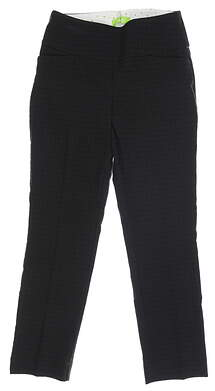 New Womens Swing Control Pants 6 Black MSRP $100