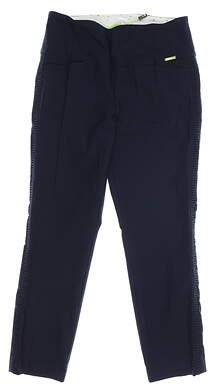 New Womens Swing Control Pants 10 Navy Blue MSRP $120