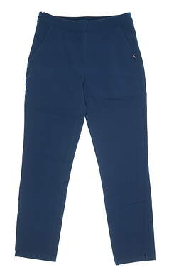 New Womens Puma 7/8 Golf Pants Small S Gibraltar Sea MSRP $70 595166 03