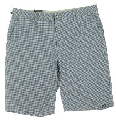 New Mens Adidas Ultimate 365 Gingham Shorts 36 Blue MSRP $85 CD9884