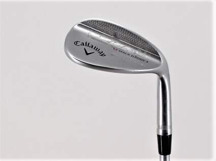 Callaway Mack Daddy 2 Chrome Wedge Sand SW 54° 14 Deg Bounce S Grind FST KBS Tour C-Taper 130 Steel X-Stiff Right Handed 35.25in