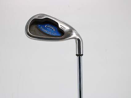 Callaway X-16 Single Iron 8 Iron 38° True Temper Dynamic Gold S300 Steel Stiff Right Handed 36.5in