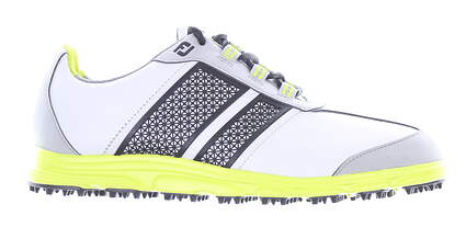 New Footjoy Junior Golf Shoe Medium 5 Gray MSRP $140 45052