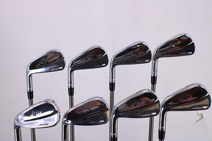 Callaway 2018 Apex MB Iron Set 3-PW Aerotech SteelFiber i95 Graphite Stiff Left Handed 38.0in