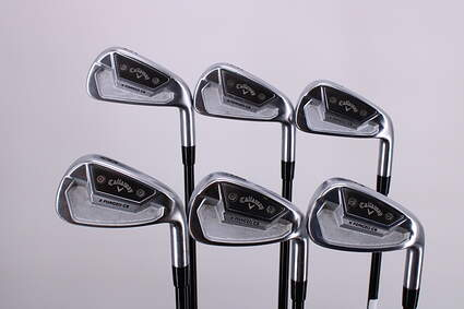 Callaway X Forged CB 21 Iron Set 5-PW Mitsubishi MMT 85 Graphite Regular Right Handed +3 Degrees Upright 38.5in