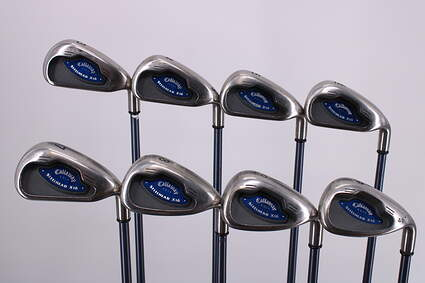 Callaway X-16 Iron Set 3-PW Callaway Stock Graphite Graphite Light Right Handed 38.0in