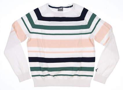 New Womens Puma Sweater Small S Multi MSRP $80 599268