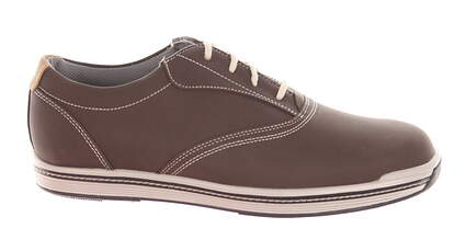 New W/O Box Mens Golf Shoe Footjoy Contour Casual Wide 12 Brown MSRP $140 54042