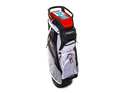 Brand New Sun Mountain C-130 Cart Bag Black/Charcoal/White/Red Ships Today!