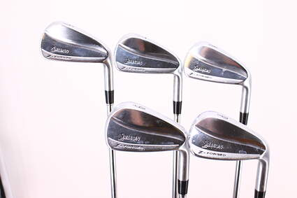 Srixon Z-Forged Iron Set 6-PW Dynamic Gold Tour Issue S400 Steel Stiff Right Handed 37.5in