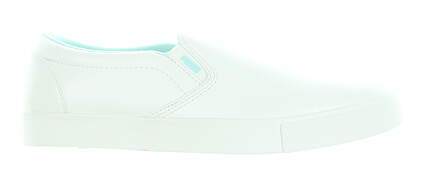 New Womens Golf Shoe Puma Tustin Slip On Medium 9 White MSRP $70 189424