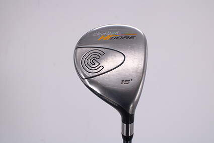 Cleveland Hibore Fairway Wood 3 Wood 3W 15° Cleveland Fujikura Fit-On Gold Graphite Stiff Right Handed 43.0in