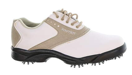 New Womens Golf Shoe Footjoy Greenjoys Medium 9.5 White MSRP $120 48401