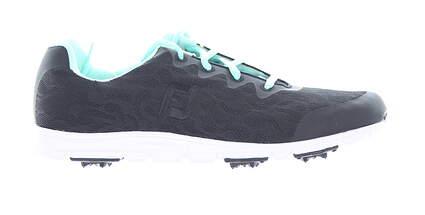 New Womens Golf Shoe Footjoy enJoy Medium 9.5 Black MSRP $80 95705