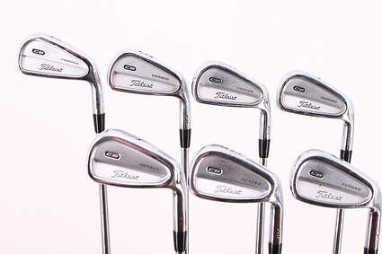 Titleist 710 CB Iron Set 4-PW Project X 6.0 Steel Stiff Right Handed 38.5in