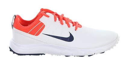 New Womens Golf Shoe Nike FI Impact 2 8.5 White MSRP $140 776093 102