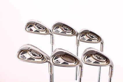 Ping G15 Iron Set 6-GW Ping AWT Steel Regular Right Handed Blue Dot 37.75in
