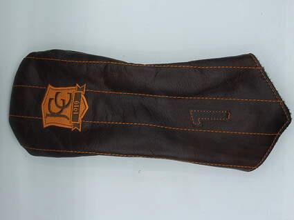 "Links and Kings ""Jonesboro Country Club"" Driver Headcover Brown/Orange"
