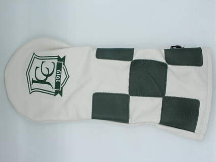 "Links and Kings ""Jonesboro Country Club"" Driver Headcover Green/White"