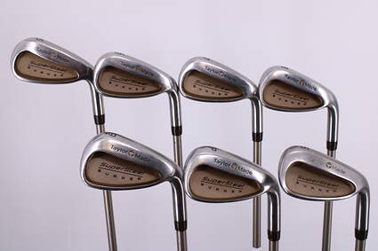 TaylorMade Supersteel Iron Set 5-PW SW Stock Graphite Ladies Right Handed 37.0in