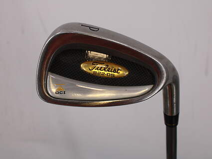 Titleist DCI 822 Oversize Single Iron Pitching Wedge PW Titliest Ultralight 75 g Shaft Graphite Stiff Right Handed 35.75in