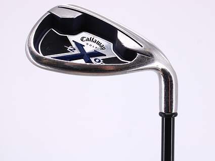 Callaway X-20 Single Iron Pitching Wedge PW Callaway x-20 graphite iron Graphite Regular Right Handed 35.5in