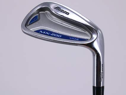 Mizuno MX 200 Single Iron Pitching Wedge PW Nippon 950GH Steel Stiff Right Handed 35.0in
