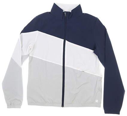 New Womens Puma Track Jacket Small S Navy Blazer MSRP $100 599270