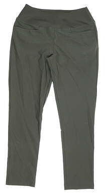 New Womens Puma PWRSHAPE Golf Pants Small S Thyme MSRP $75 595859 08