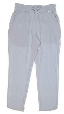 New Womens Puma Lightweight 7/8 Golf Pants Small S Quarry MSRP $75 595861 02