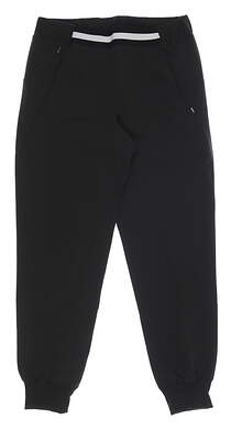 New Womens Puma Del Mar Joggers Small S Black MSRP $70 599263 011