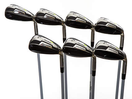 Mint Tour Edge Hot Launch 4 Iron-Wood Iron Set 5-PW SW UST Mamiya HL4 Graphite Ladies Right Handed 37.25in