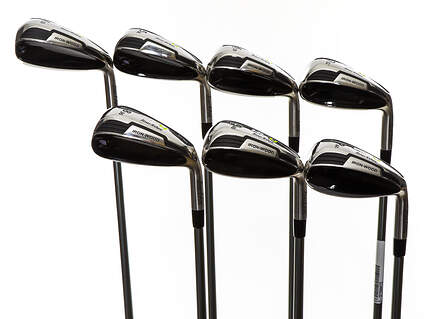 Mint Tour Edge Hot Launch 4 Iron-Wood Iron Set 4-PW UST Mamiya HL4 Graphite Senior Right Handed 38.25in