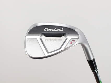 Cleveland RTX-3 Cavity Back Tour Satin Wedge Gap GW 52° 10 Deg Bounce V-MG Cleveland Action Ultralite 50 Graphite Wedge Flex Right Handed 34.75in