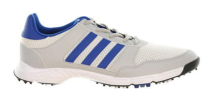 New Mens Golf Shoe Adidas Tech Response Medium 13 Gray/Blue MSRP $60 Q44883