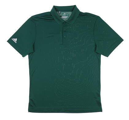 New Mens Adidas Polo Small S Green MSRP $55 CV6419
