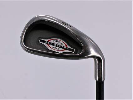 Callaway 2002 Big Bertha Single Iron 5 Iron Callaway RCH 75i Graphite Regular Right Handed 38.0in