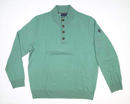 New W/ Logo Mens Ralph Lauren Sweater X-Large XL Green MSRP $120